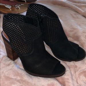 Lucky Brand Black Suede Heel
